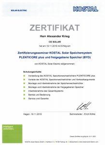 Kostal-zertifikat-cesolar